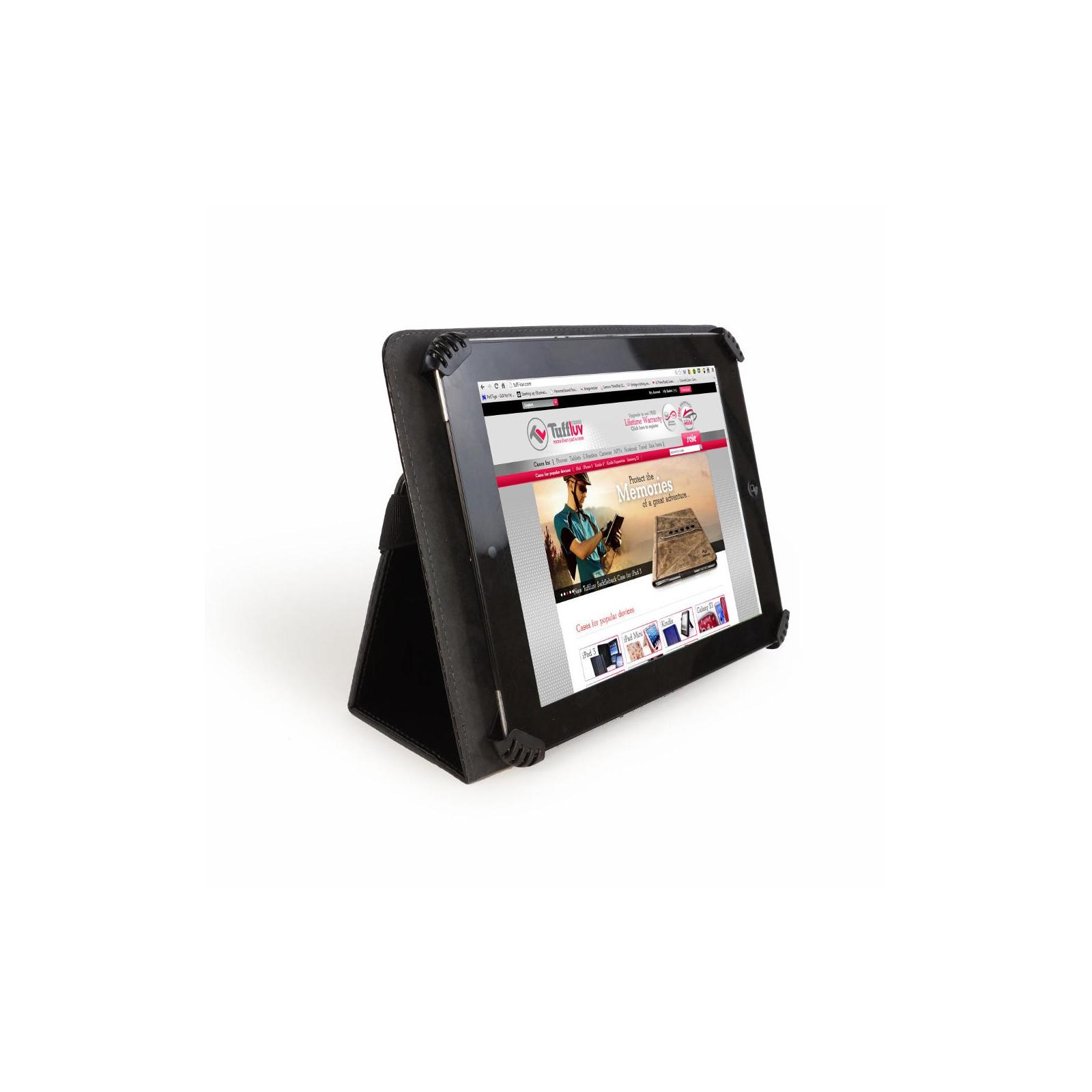 Чехол для планшета Tuff-Luv 10 Uni-View Black Carbon (A3_45) изображение 4