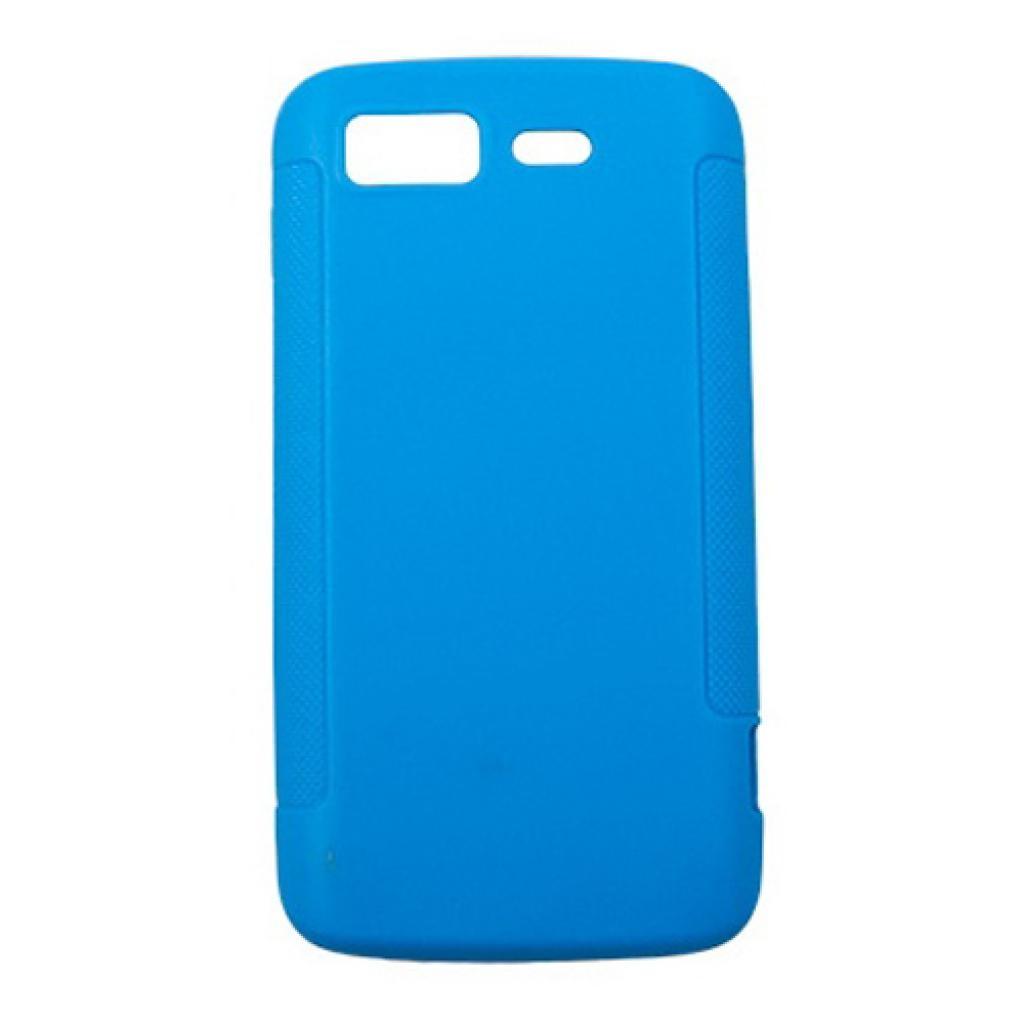 Чехол для моб. телефона Drobak для Fly IQ440 /Elastic PU/Blue (214727)