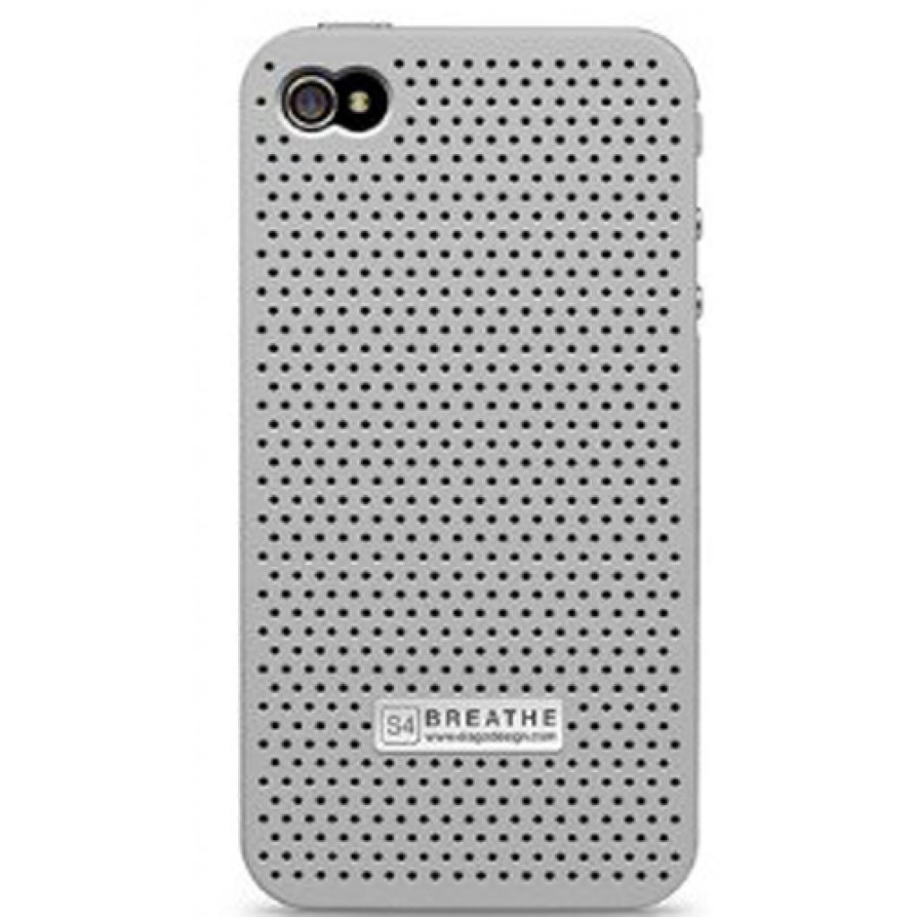 Чехол для моб. телефона ELAGO для iPhone 4/4S /Breathe/ Silver (EL-S4BR-SFSL-PL) изображение 2