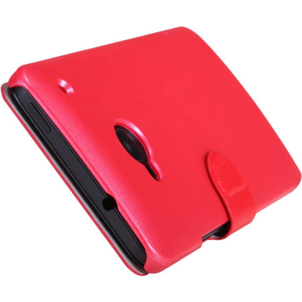 Чехол для моб. телефона NILLKIN для HTC ONE/M7- Fresh/ Leather/Red (6076833) изображение 3