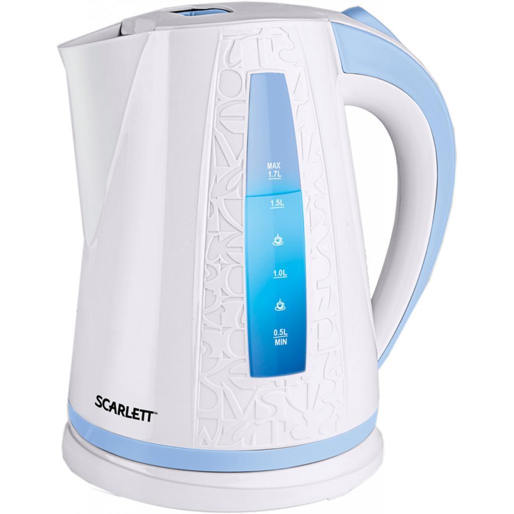 Электрочайник SCARLETT SC-EK18P01 white