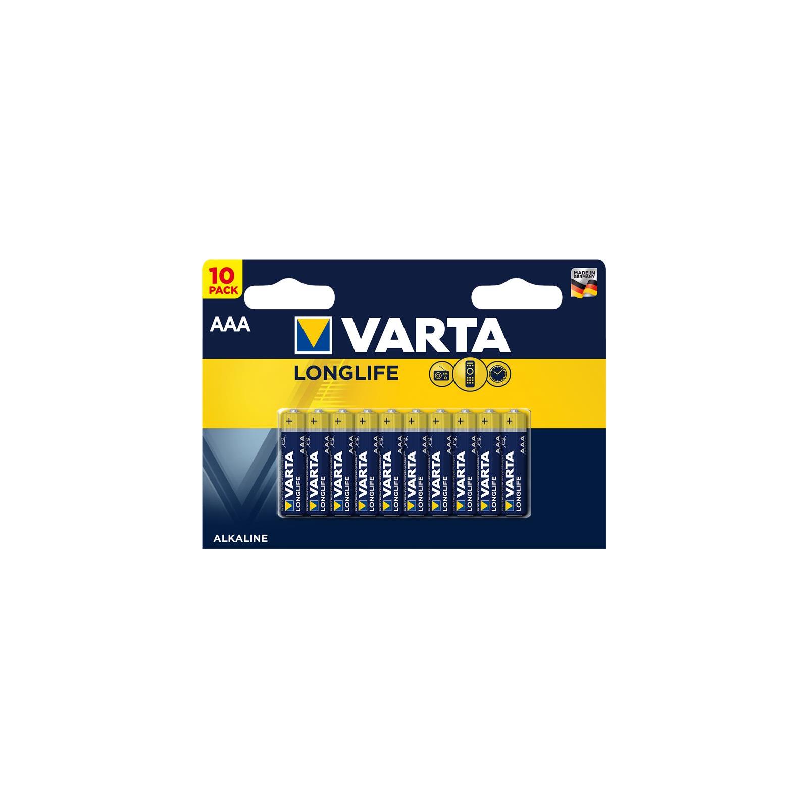 Батарейка Varta LONGLIFE ALKALINE * 10 (4103101461)