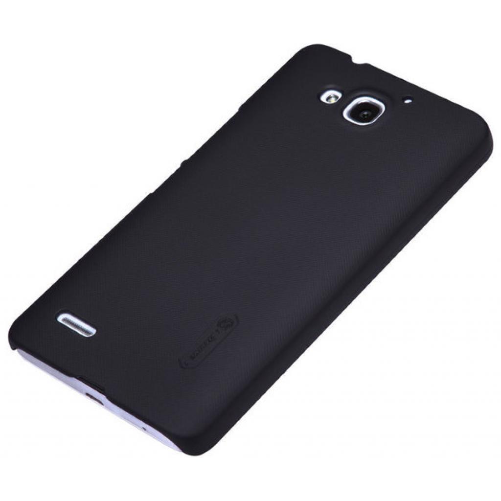 Чехол для моб. телефона NILLKIN для Huawei Honor 3X/G750 /Super Frosted Shield/Black (6129179) изображение 2
