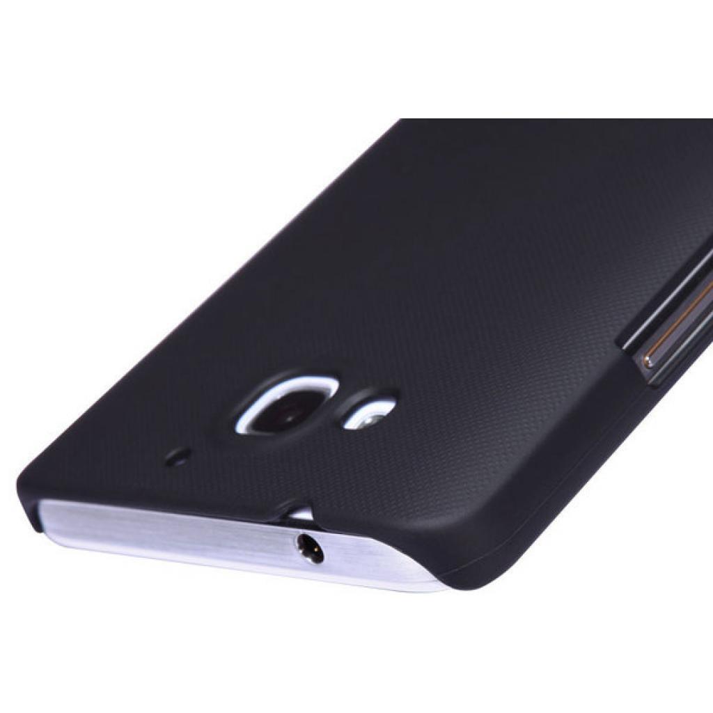 Чехол для моб. телефона NILLKIN для Huawei Honor 3X/G750 /Super Frosted Shield/Black (6129179) изображение 3
