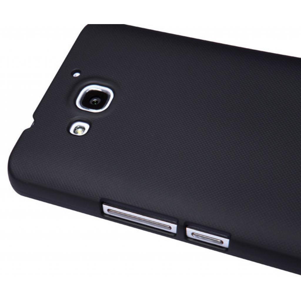 Чехол для моб. телефона NILLKIN для Huawei Honor 3X/G750 /Super Frosted Shield/Black (6129179) изображение 4