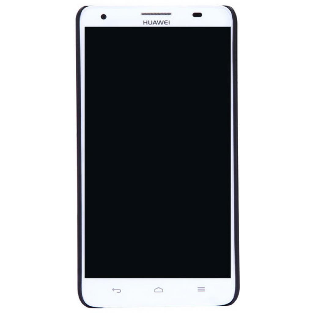 Чехол для моб. телефона NILLKIN для Huawei Honor 3X/G750 /Super Frosted Shield/Black (6129179) изображение 5