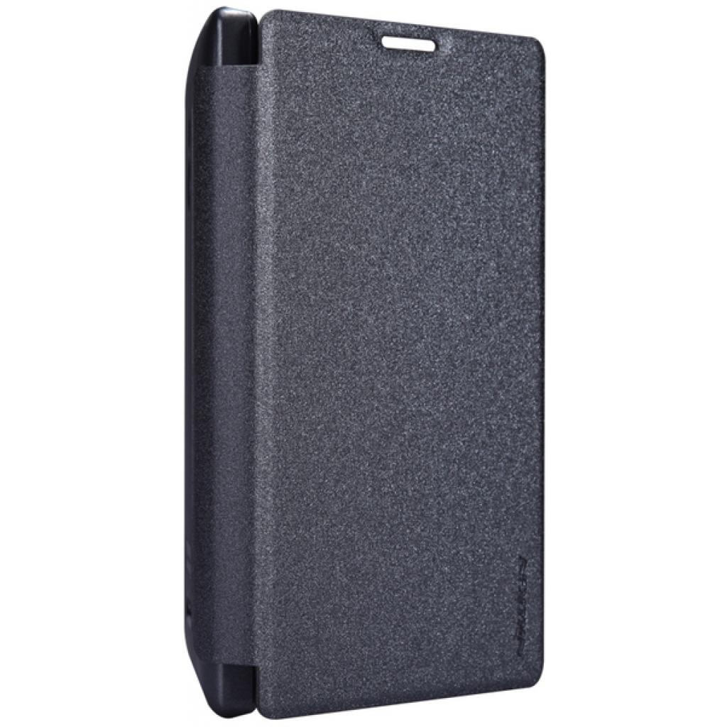 Чехол для моб. телефона NILLKIN для Nokia XL /Spark/ Leather/Black (6164351) изображение 3