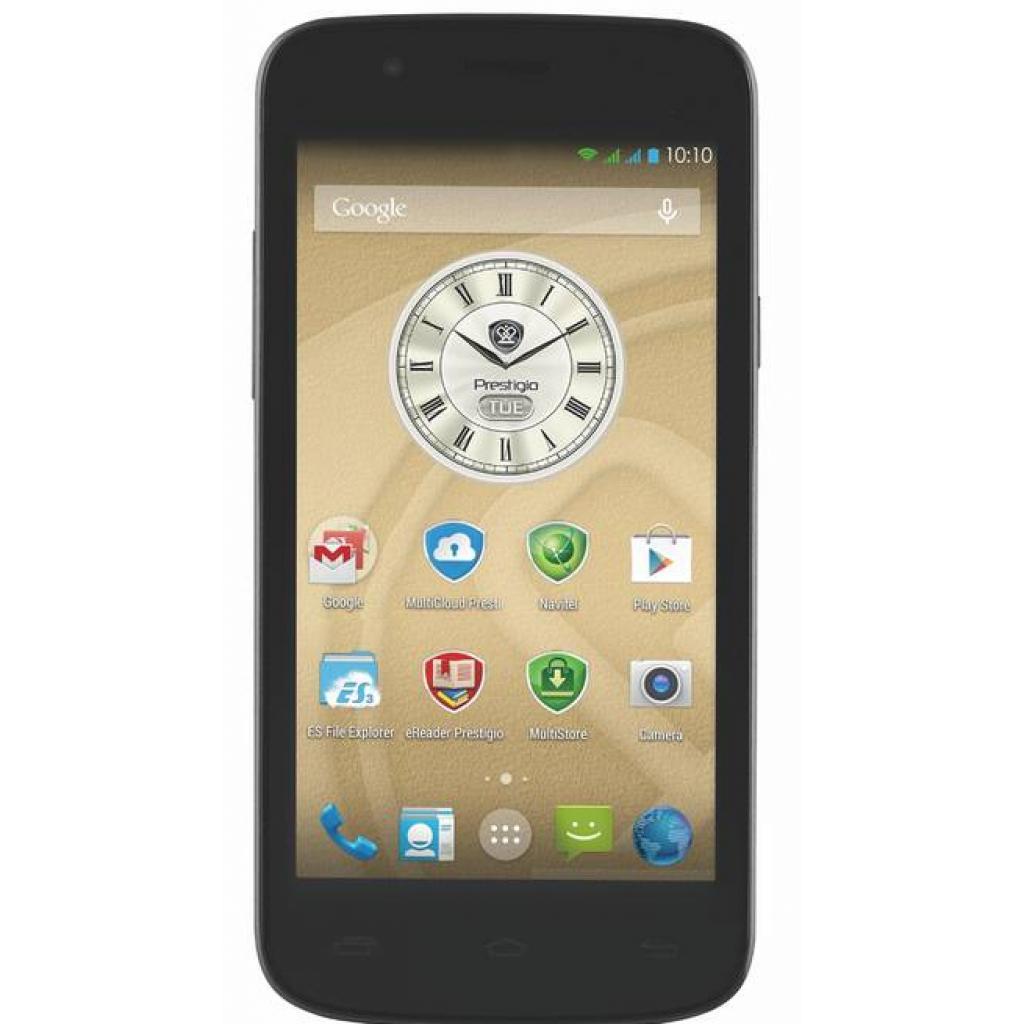 Мобильный телефон PRESTIGIO MultiPhone 5504 DUO Metal (PSP5504DUOMETAL)