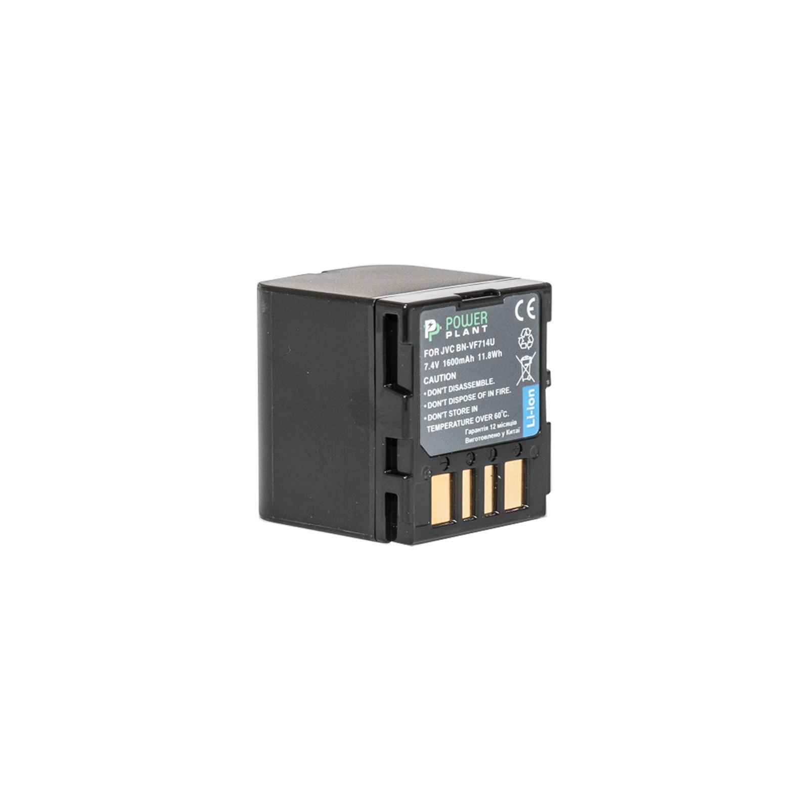 Аккумулятор к фото/видео PowerPlant JVC BN-VF714U (DV00DV1179)