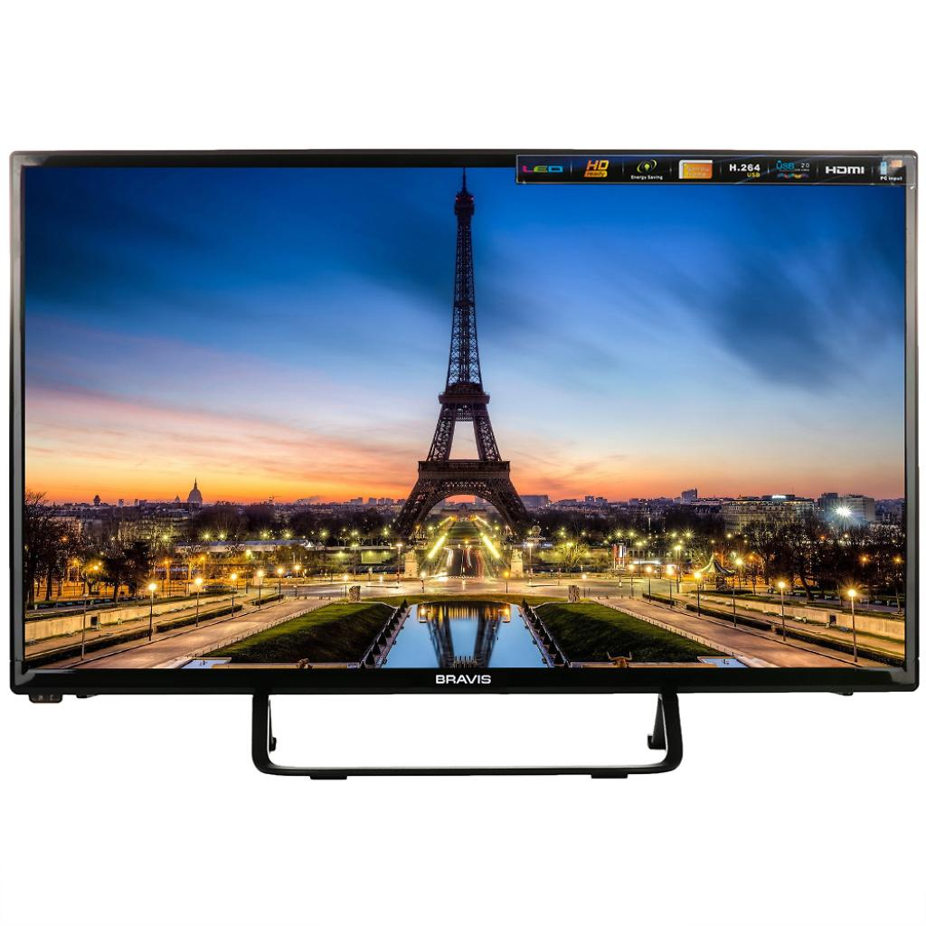 Телевизор Bravis LED-28D1070 black