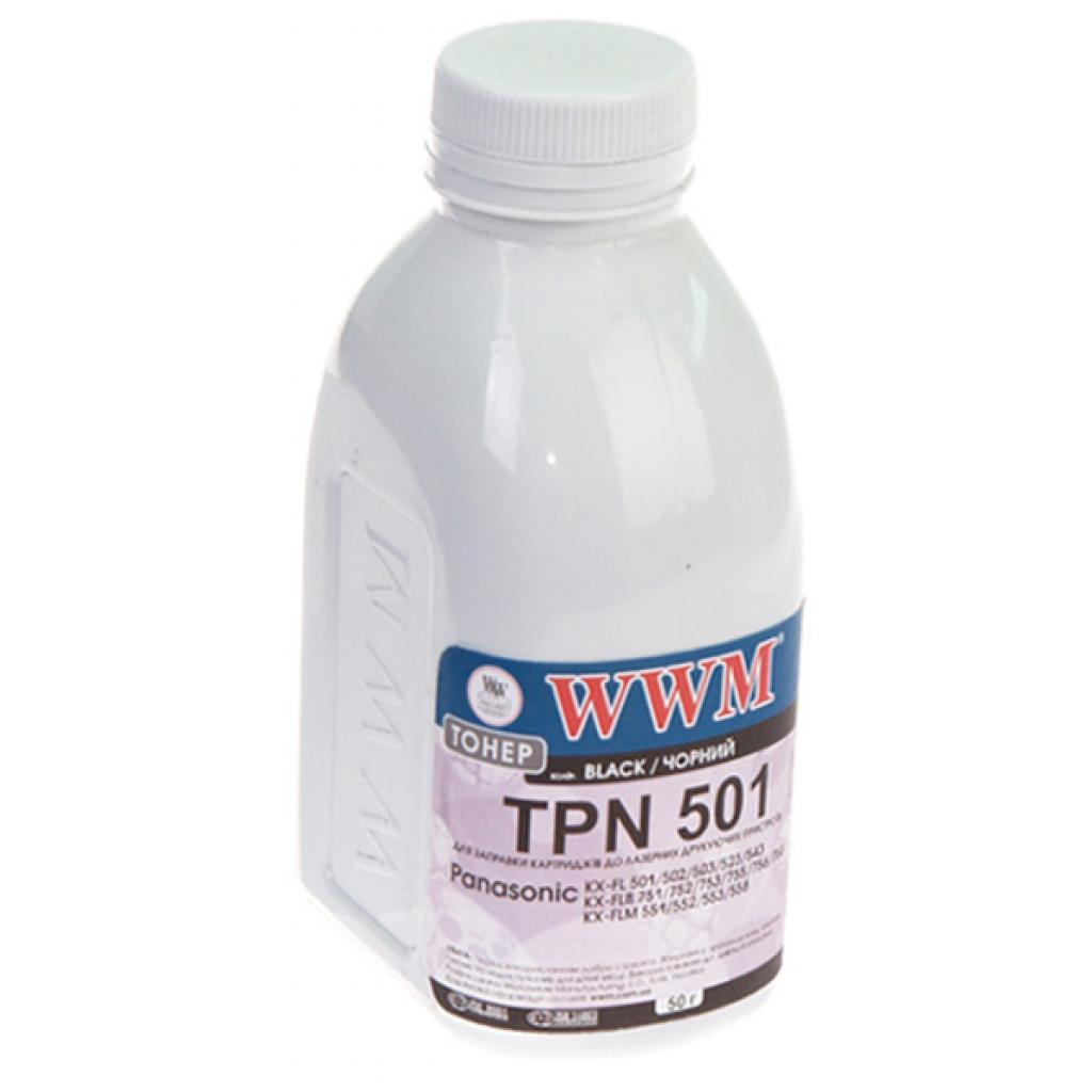Тонер WWM Panasonic KX-FL 501/502/503/523/543 (TH68)