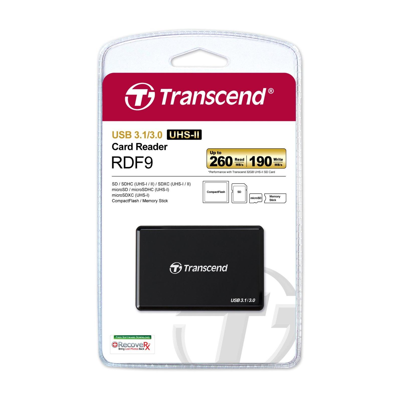 Считыватель флеш-карт Transcend TS-RDF9K изображение 4