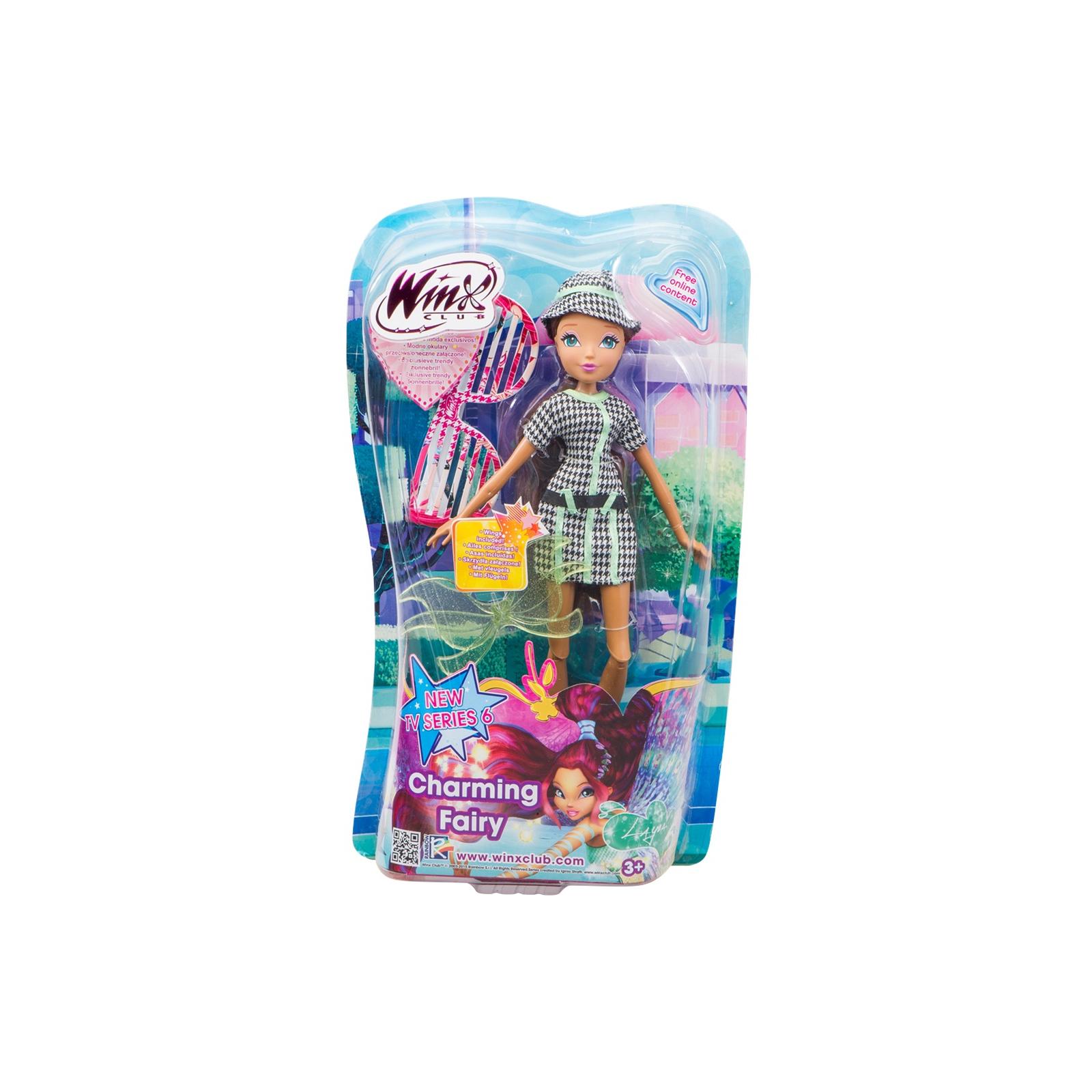 Кукла WinX Charming Fairy Волшебная фея Лейла 27 см (IW01011405)