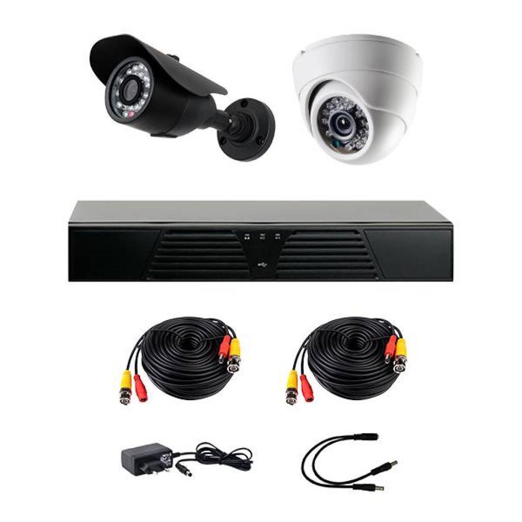 Комплект видеонаблюдения CoVi HVK-2002 AHD KIT