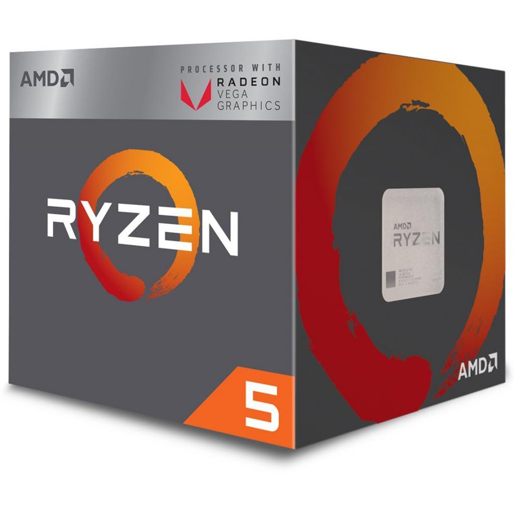Процесор AMD Ryzen 5 2400G (YD2400C5FBBOX)