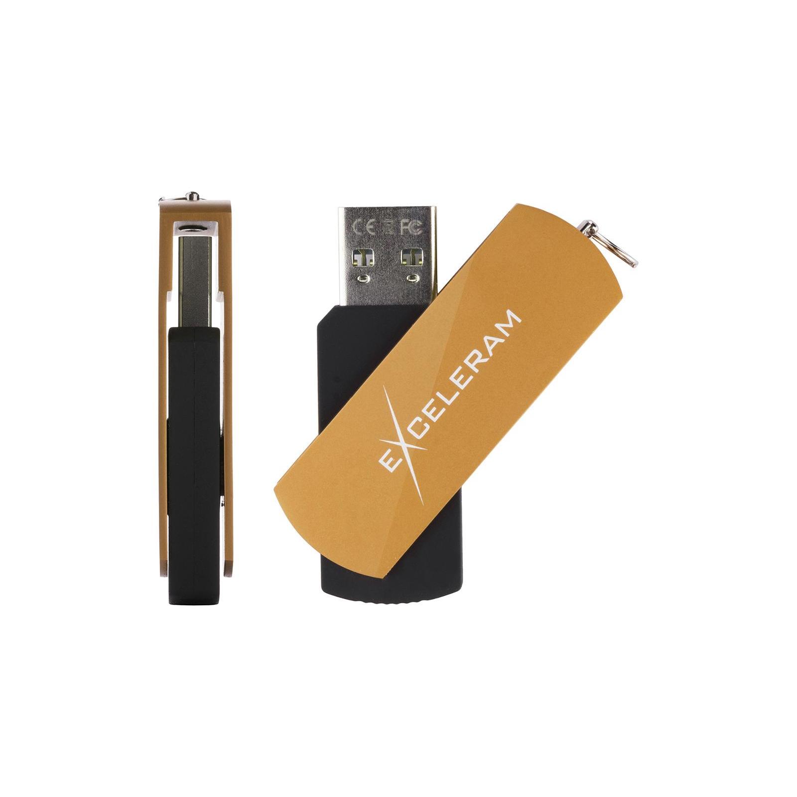 USB флеш накопитель eXceleram 8GB P2 Series Rose/Black USB 2.0 (EXP2U2ROB08) изображение 4