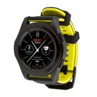Смарт-часы ATRIX Smart watch X4 GPS PRO black-yellow