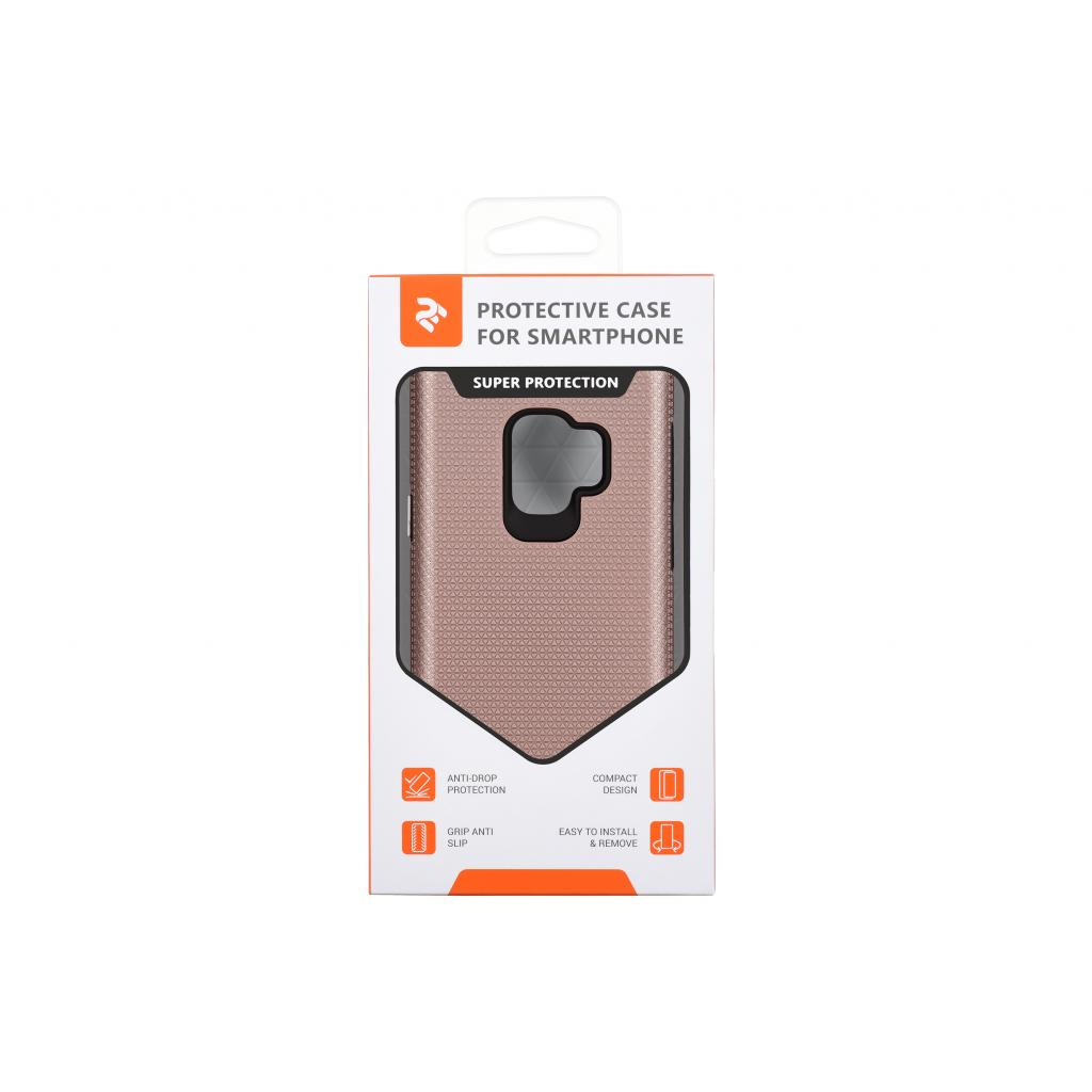 Чохол до моб. телефона 2E Samsung Galaxy S9 (G960), Triangle, Rose gold (2E-G-S9-18-TKTLRG) зображення 3