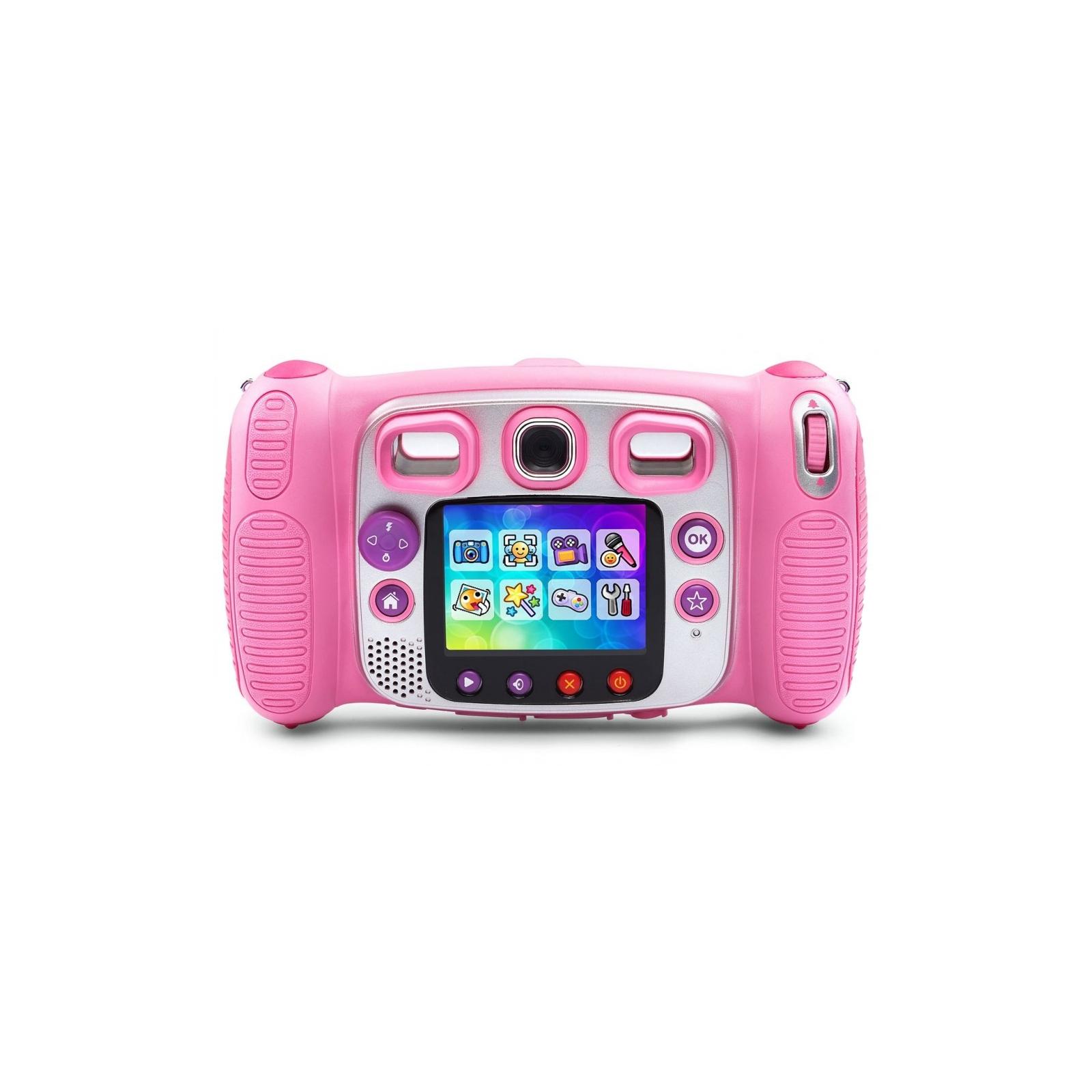 Интерактивная игрушка VTech Детская цифровая фотокамера Kidizoom Duo Pink (80-170853) изображение 2