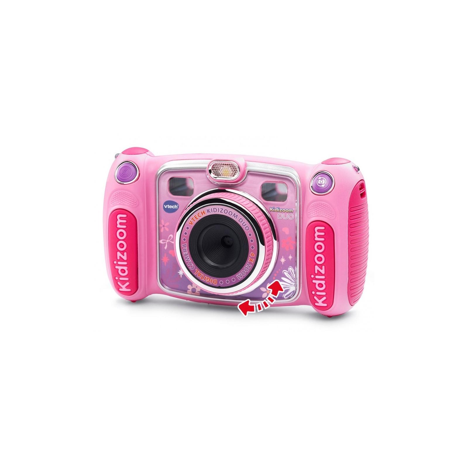 Интерактивная игрушка VTech Детская цифровая фотокамера Kidizoom Duo Pink (80-170853) изображение 3
