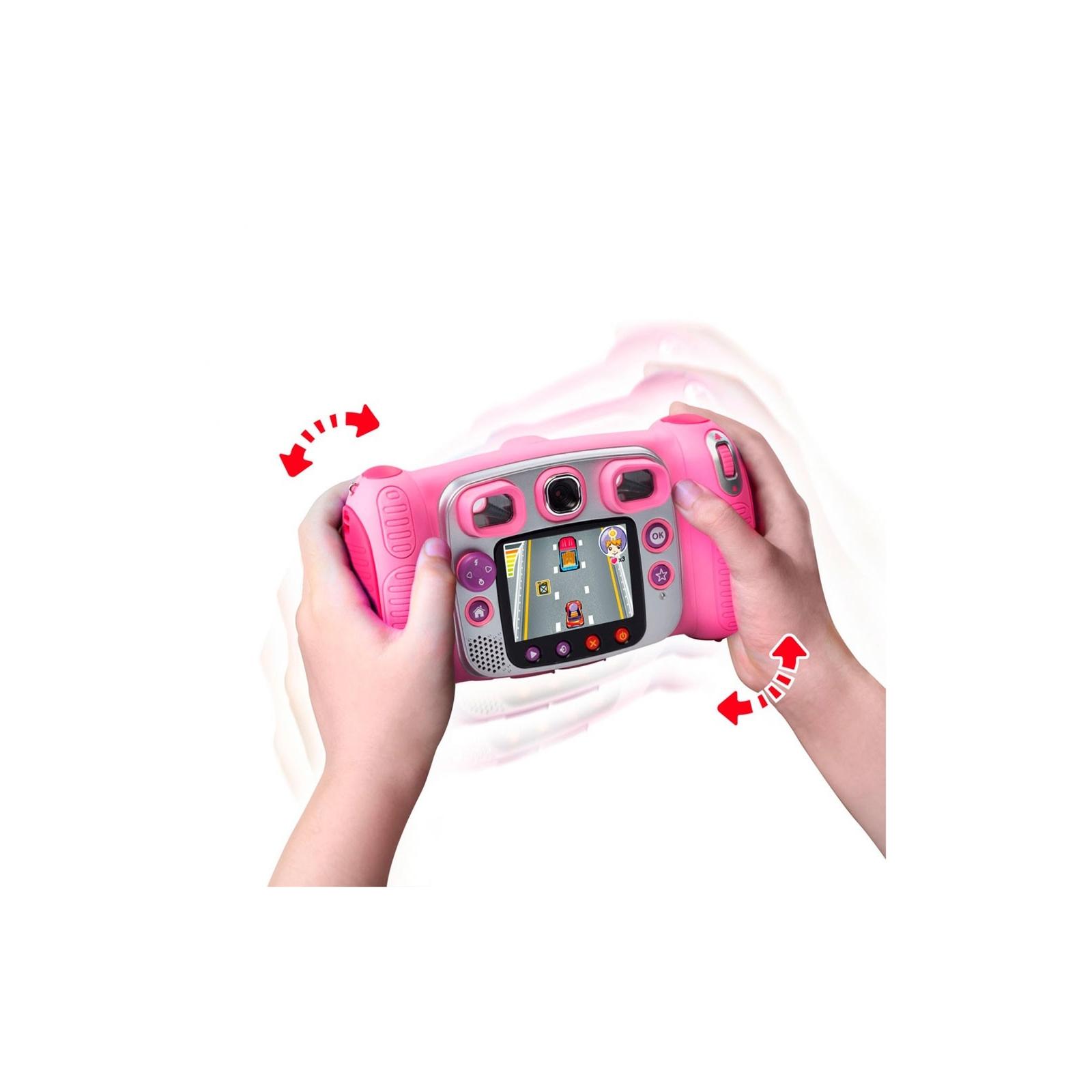 Интерактивная игрушка VTech Детская цифровая фотокамера Kidizoom Duo Pink (80-170853) изображение 5