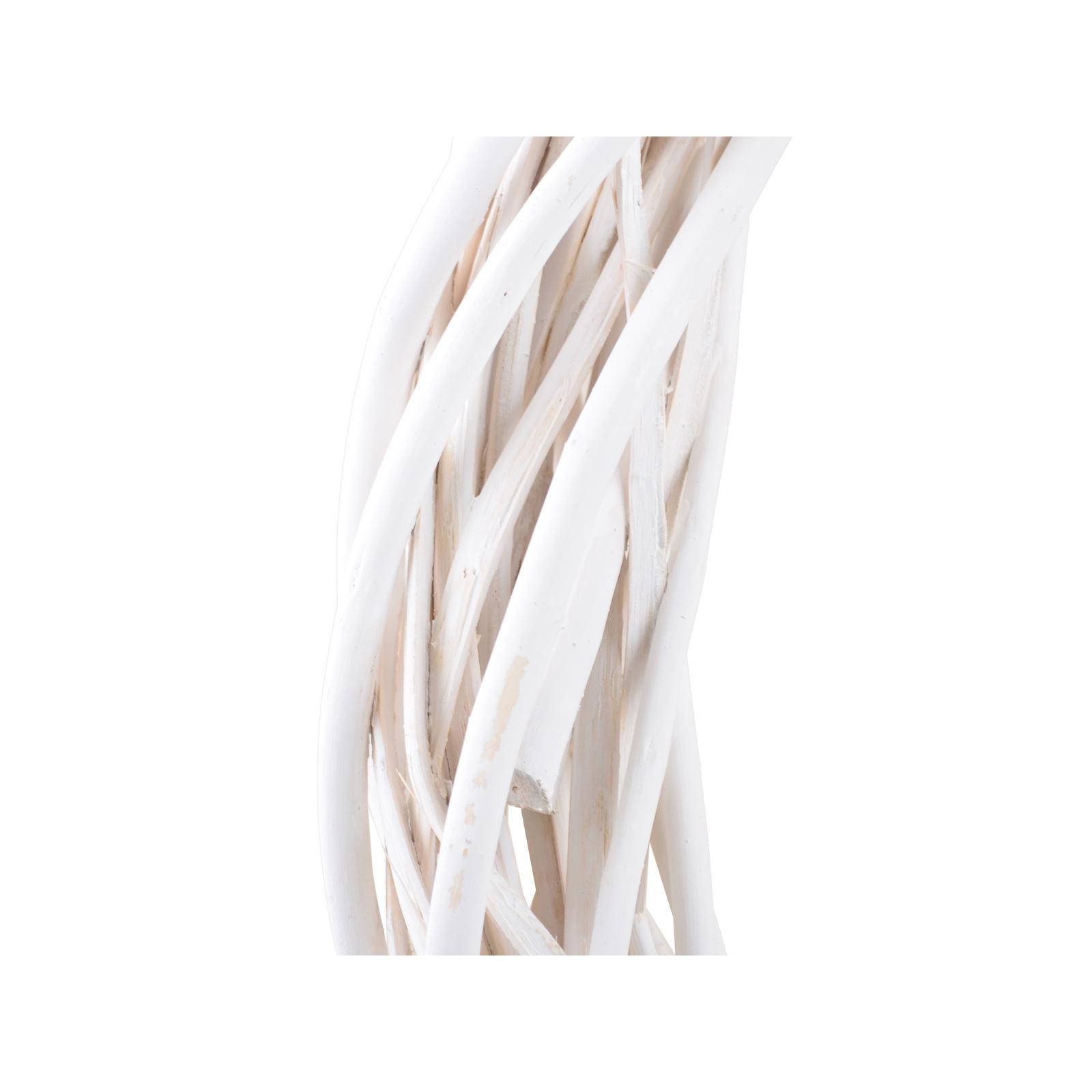 Украшение декоративное YES! Fun Венок ротанговый белый, d-60см (973450) изображение 2