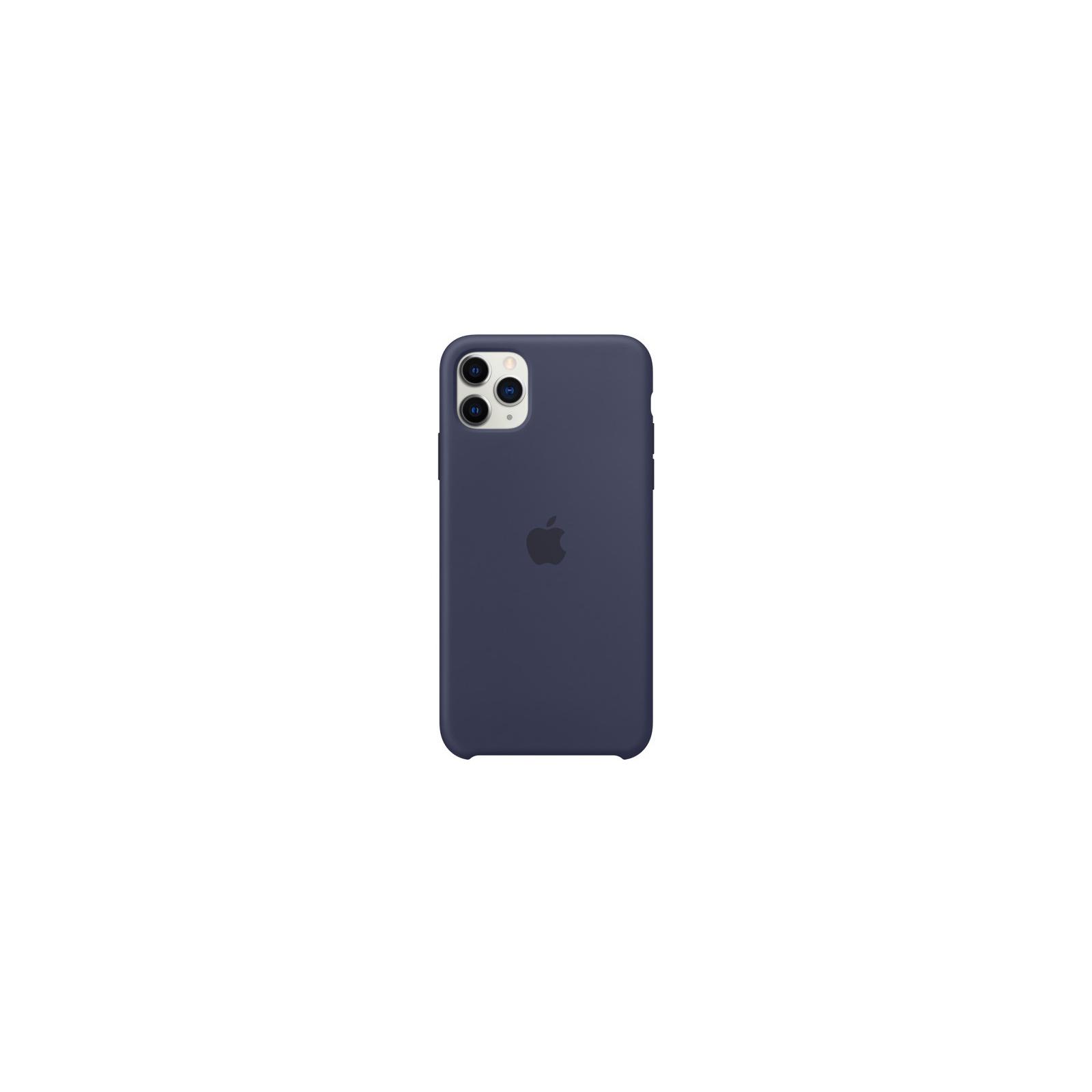 Чехол для моб. телефона Apple iPhone 11 Pro Max Silicone Case - Midnight Blue (MWYW2ZM/A) изображение 2