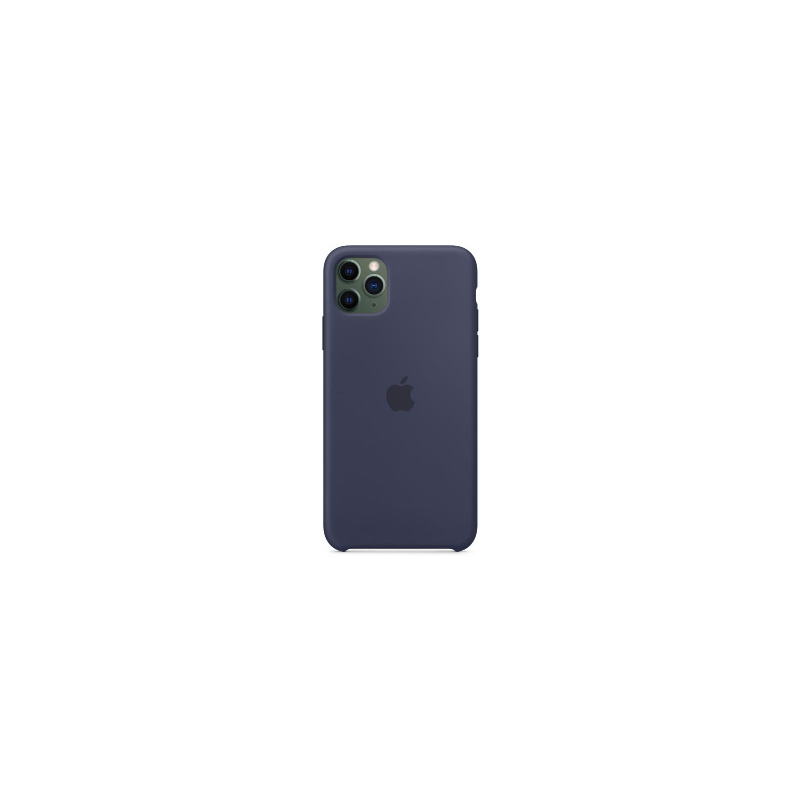 Чехол для моб. телефона Apple iPhone 11 Pro Max Silicone Case - Midnight Blue (MWYW2ZM/A) изображение 3