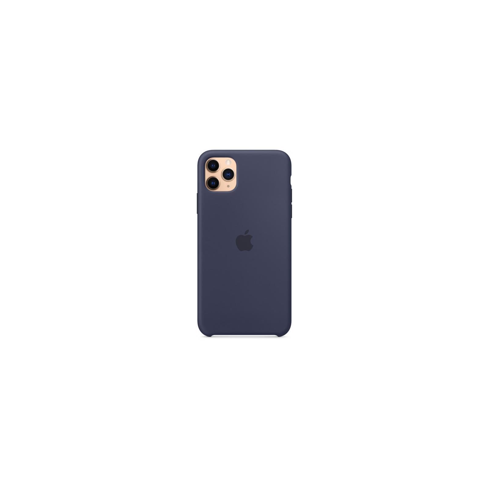 Чехол для моб. телефона Apple iPhone 11 Pro Max Silicone Case - Midnight Blue (MWYW2ZM/A) изображение 4