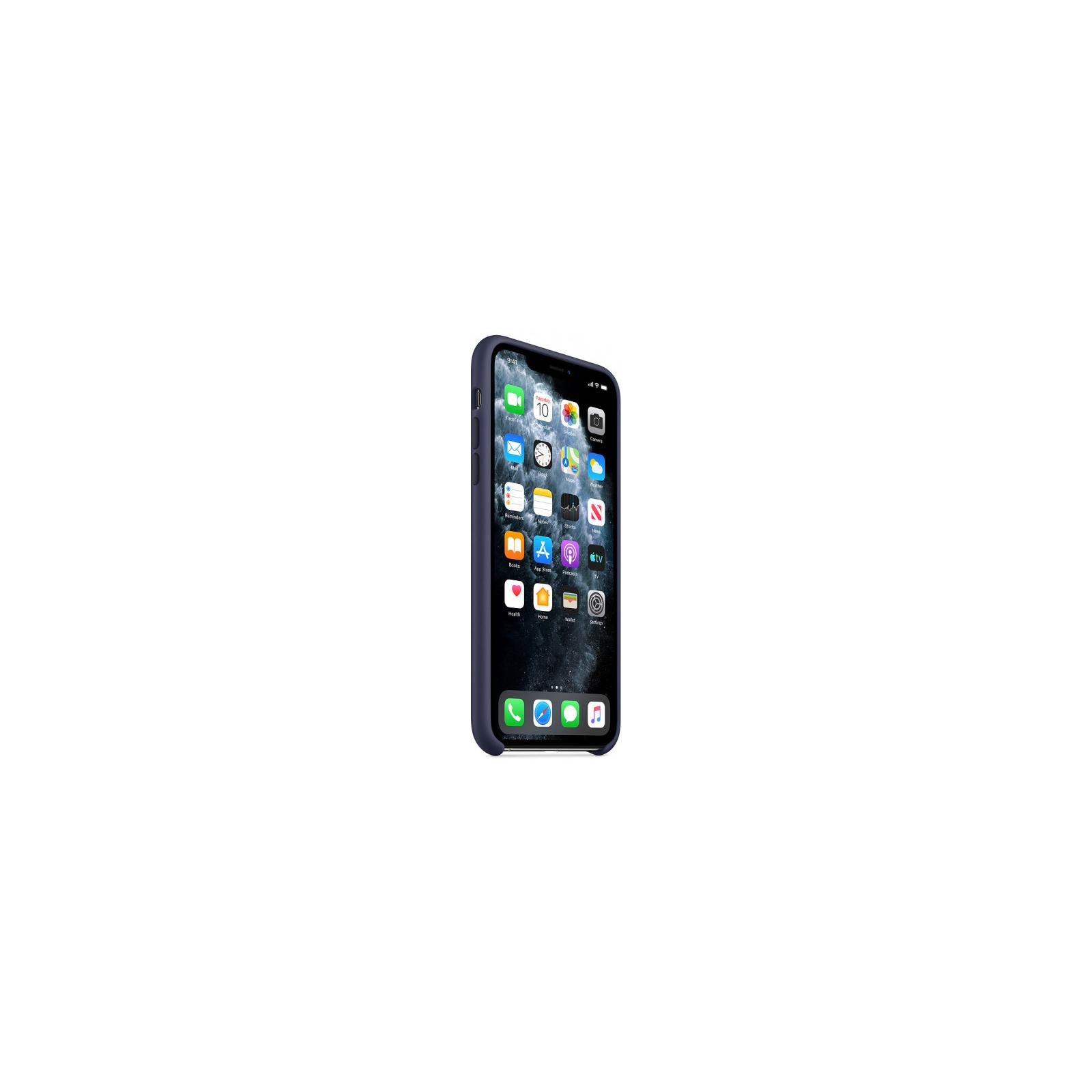 Чехол для моб. телефона Apple iPhone 11 Pro Max Silicone Case - Midnight Blue (MWYW2ZM/A) изображение 5