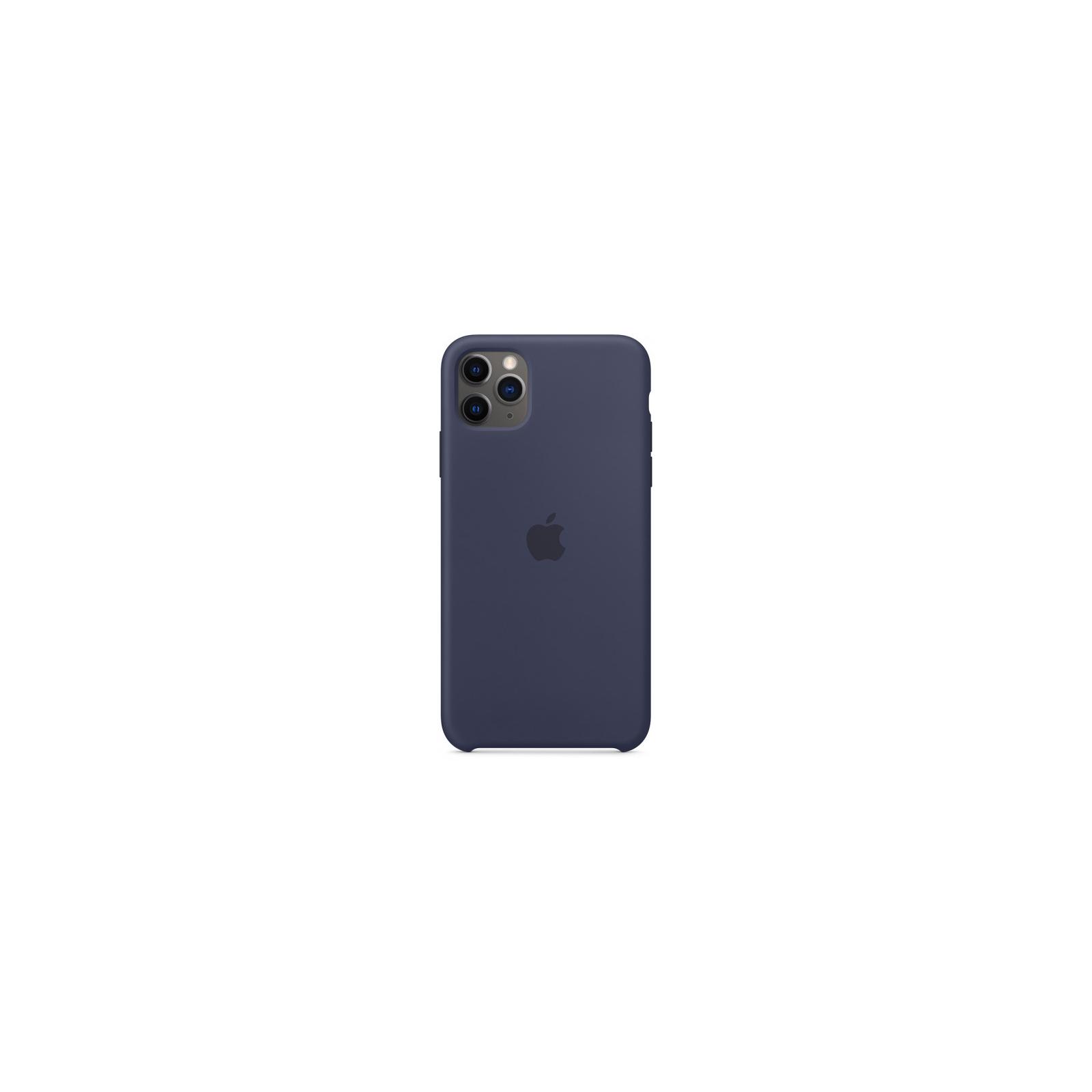 Чехол для моб. телефона Apple iPhone 11 Pro Max Silicone Case - Midnight Blue (MWYW2ZM/A)