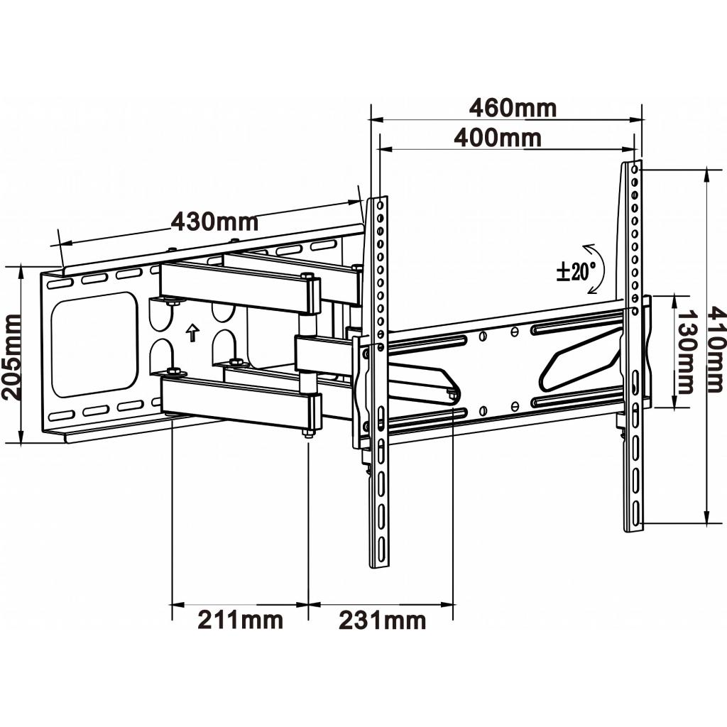 Кронштейн ITech PTRB41 изображение 2
