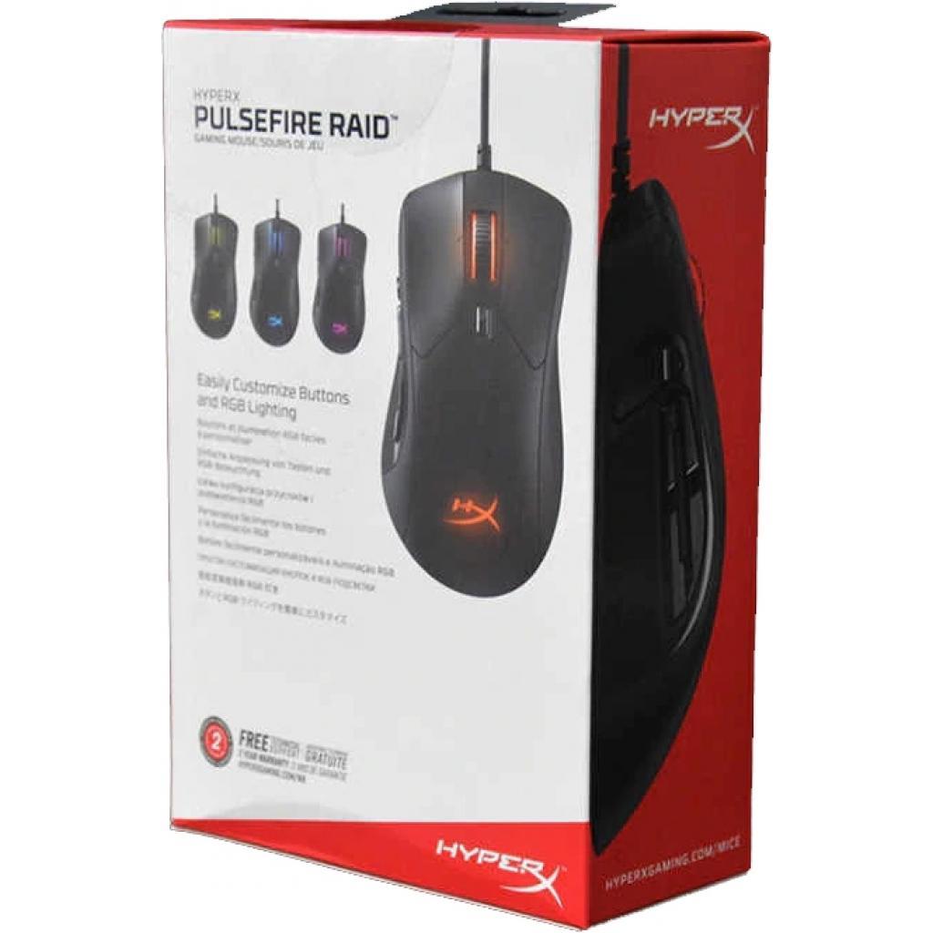 Мишка HyperX Pulsefire Raid USB Black (HX-MC005B) зображення 3