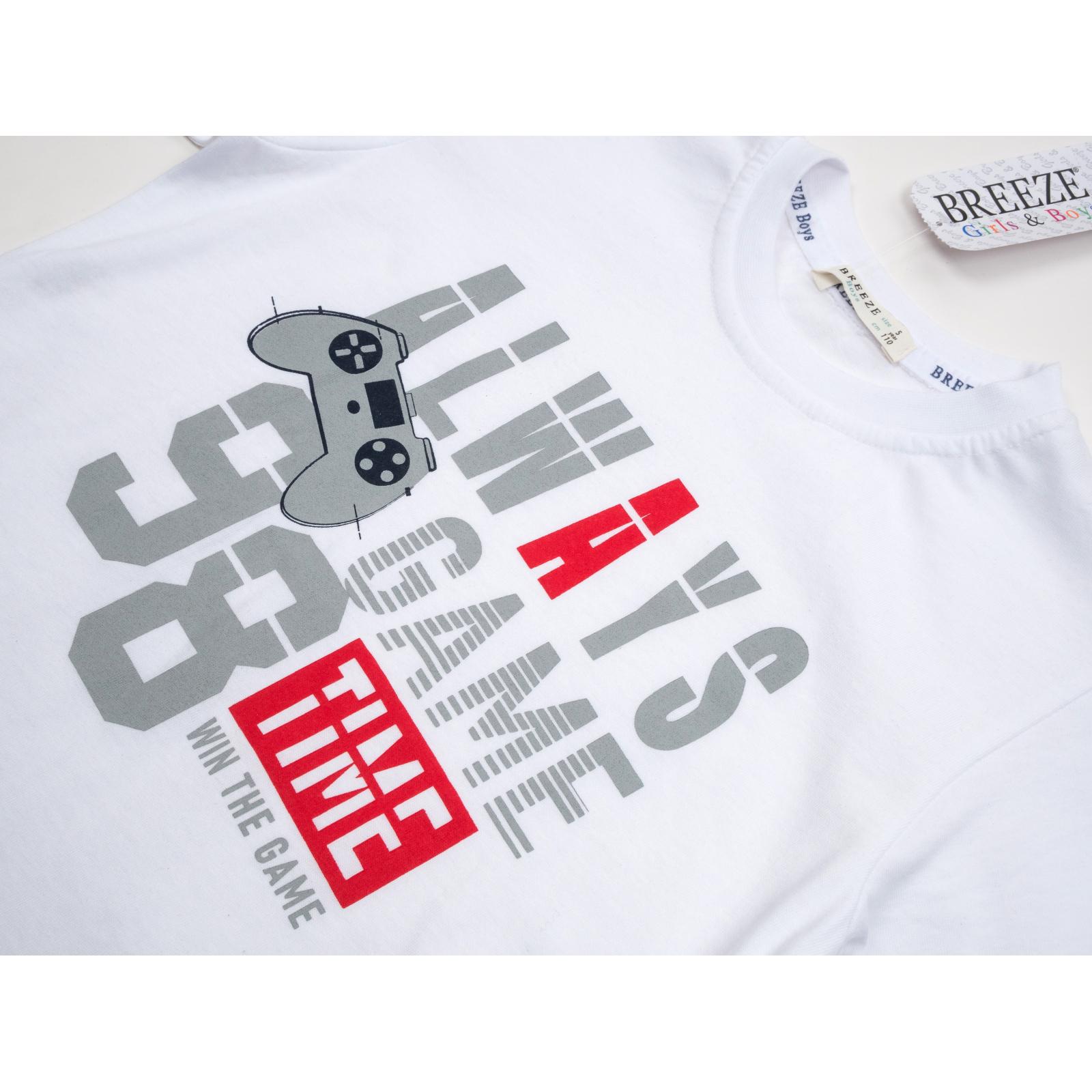 """Набор детской одежды Breeze """"GAME TIME"""" (14286-116B-gray) изображение 7"""