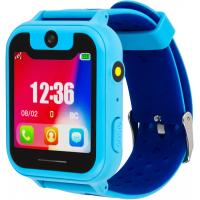 Смарт-часы Discovery iQ4500 Camera LED Light (blue) Детские смарт часы-телефон с (iQ4500 blue)