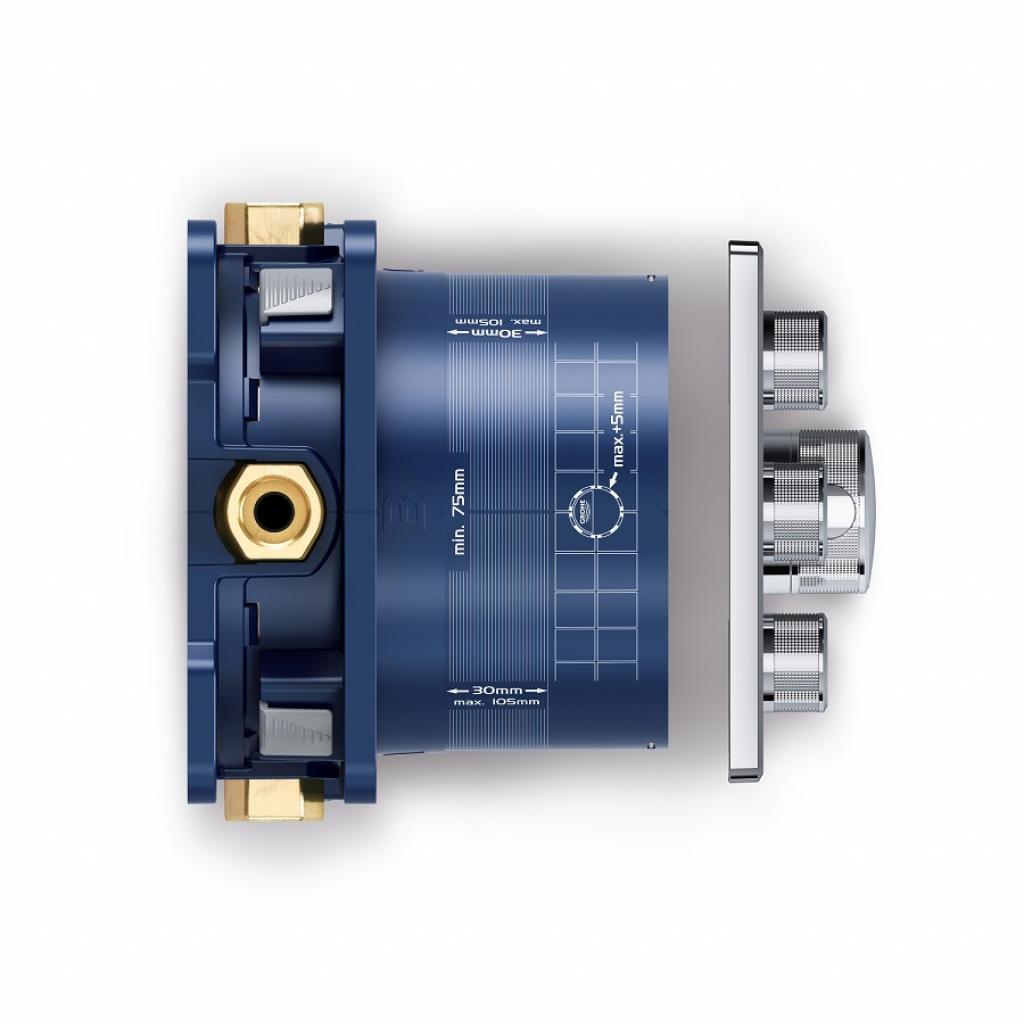 Термостатический смеситель Grohe GRT SmartControl (29126000) изображение 5