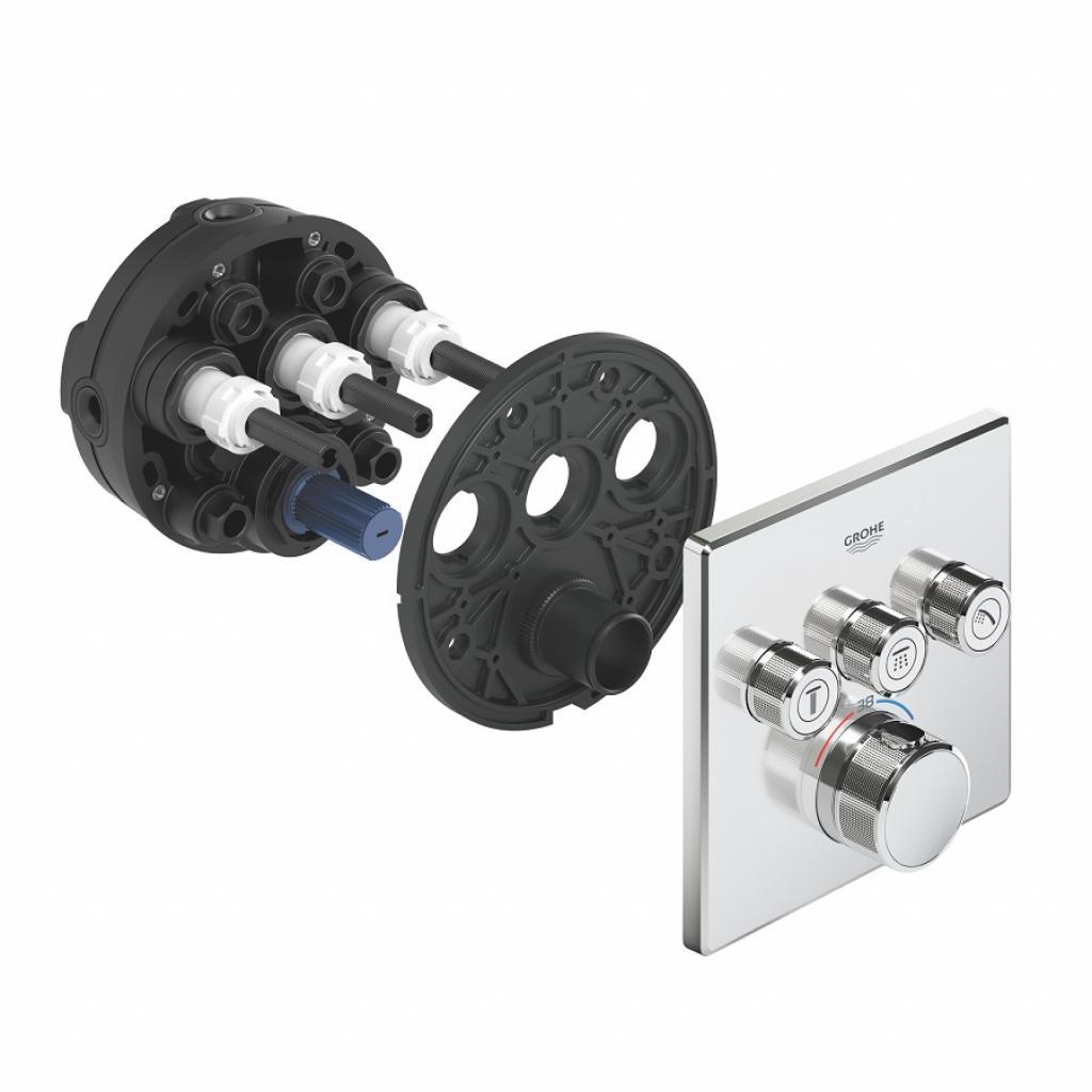 Термостатический смеситель Grohe GRT SmartControl (29126000) изображение 6