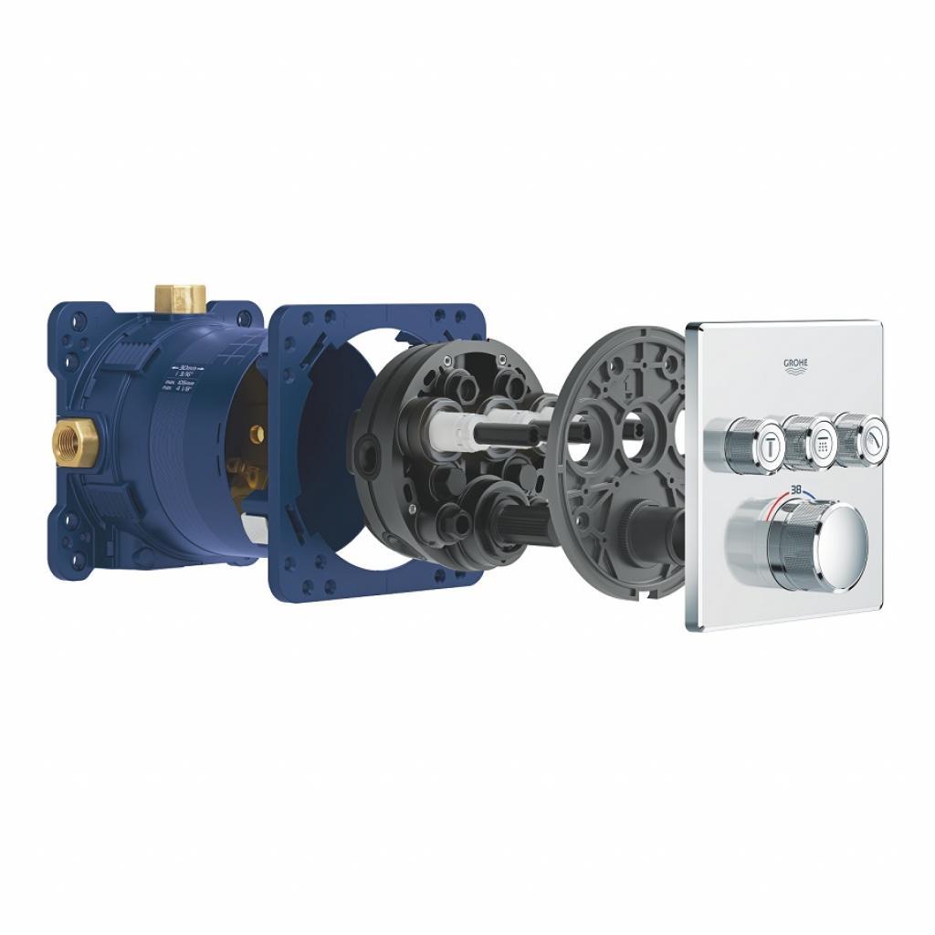 Термостатический смеситель Grohe GRT SmartControl (29126000) изображение 7