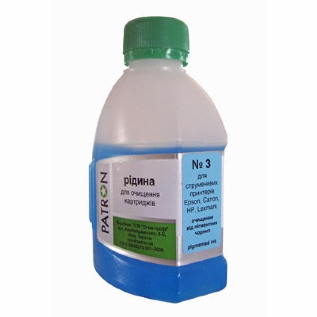 Чистящая жидкость PATRON №3 CANON/EPSON/HP/LEXMARK Пигм.180г (CS-PN-F5-020-3-180)