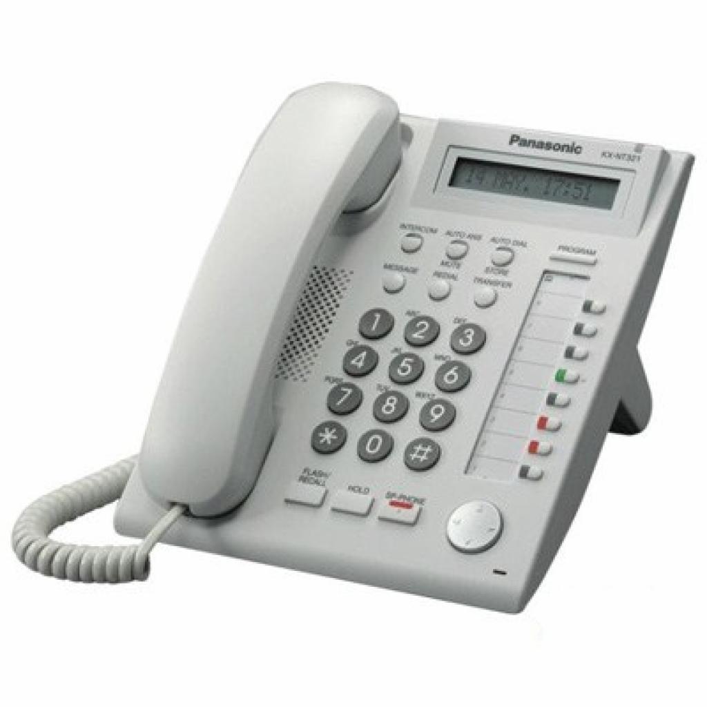 IP телефон PANASONIC KX-NT321RU