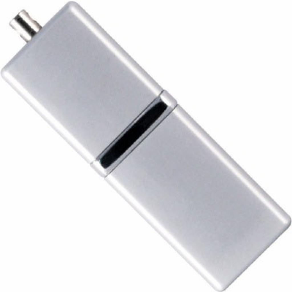 USB флеш накопитель 4Gb LuxMini 710 silver Silicon Power (SP004GBUF2710V1S)