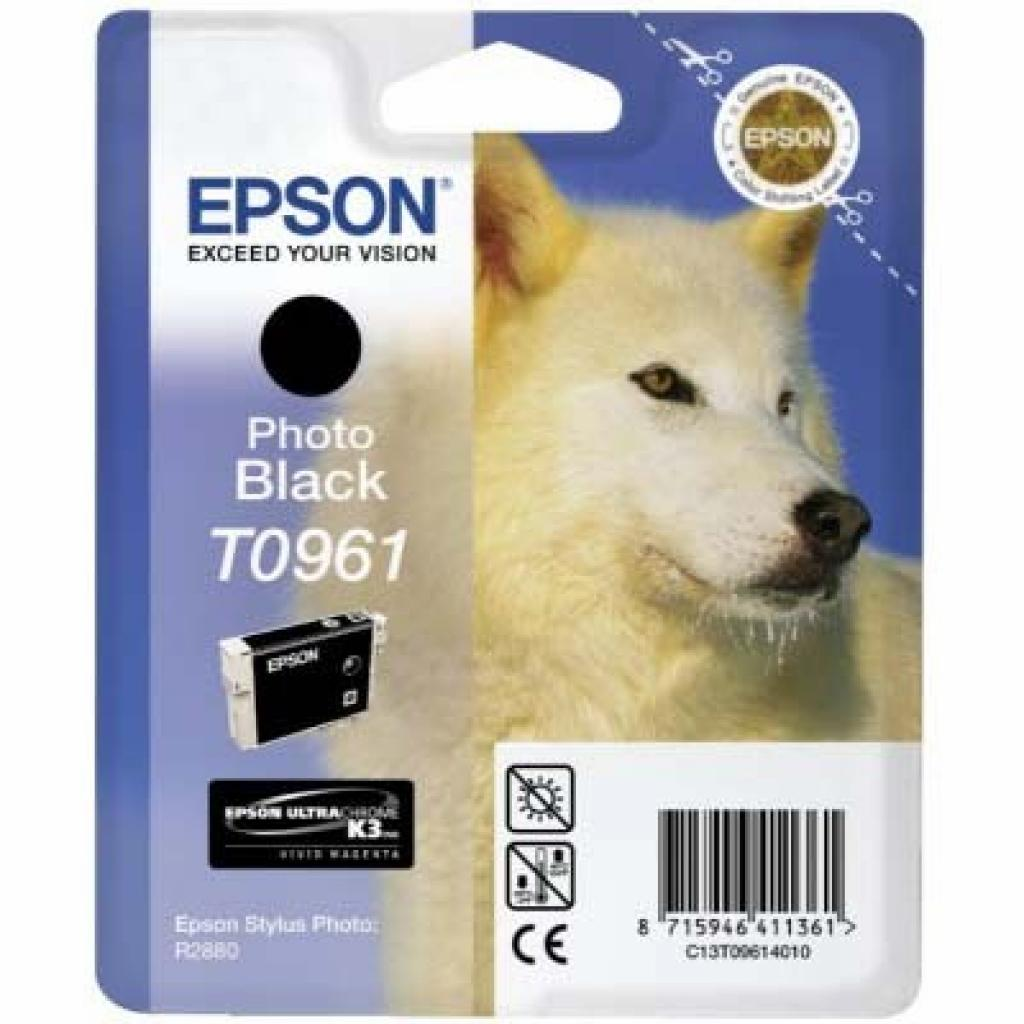 Картридж EPSON St Photo R2880 matte black (C13T09684010)