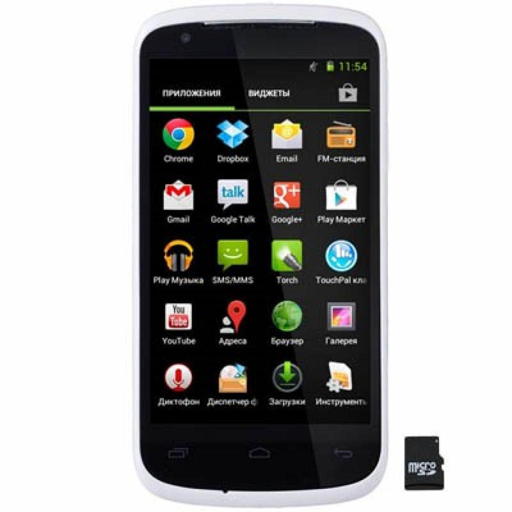 Мобильный телефон GIGABYTE GSmart GS202 White (2Q000-0057370S)