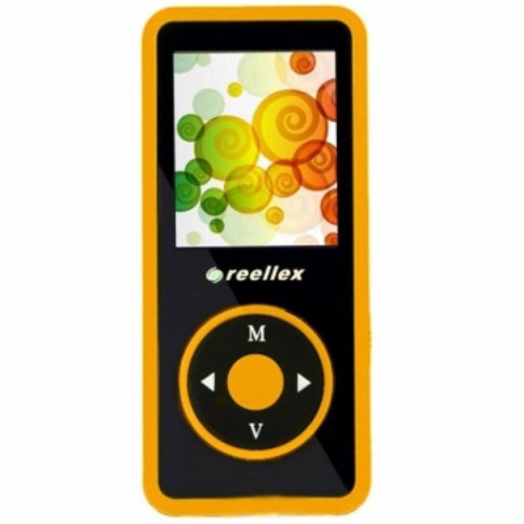 mp3 плеер Reellex UP-48 4GB Black/Orange (UP-48 Black/Orange)