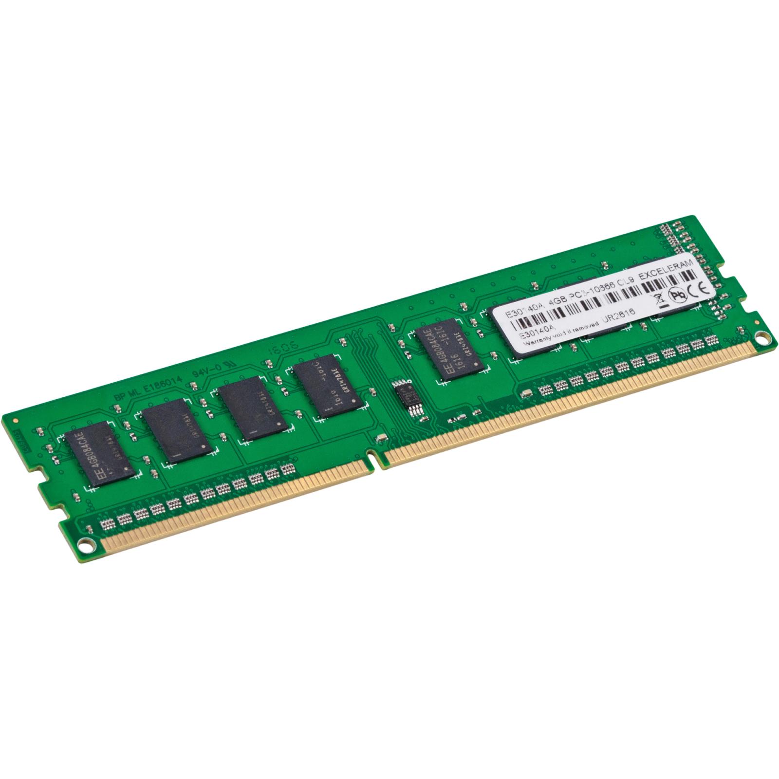 Модуль памяти для компьютера eXceleram DDR3 4GB 1333 MHz (E30140A) изображение 2