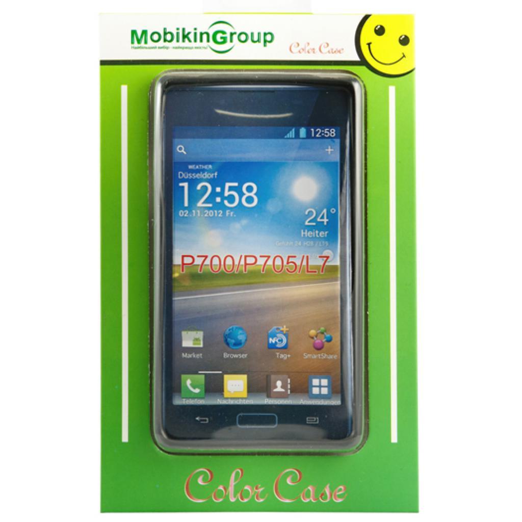 Чехол для моб. телефона Mobiking LG L5/E610/E612/E615 Black/Silicon (22745)