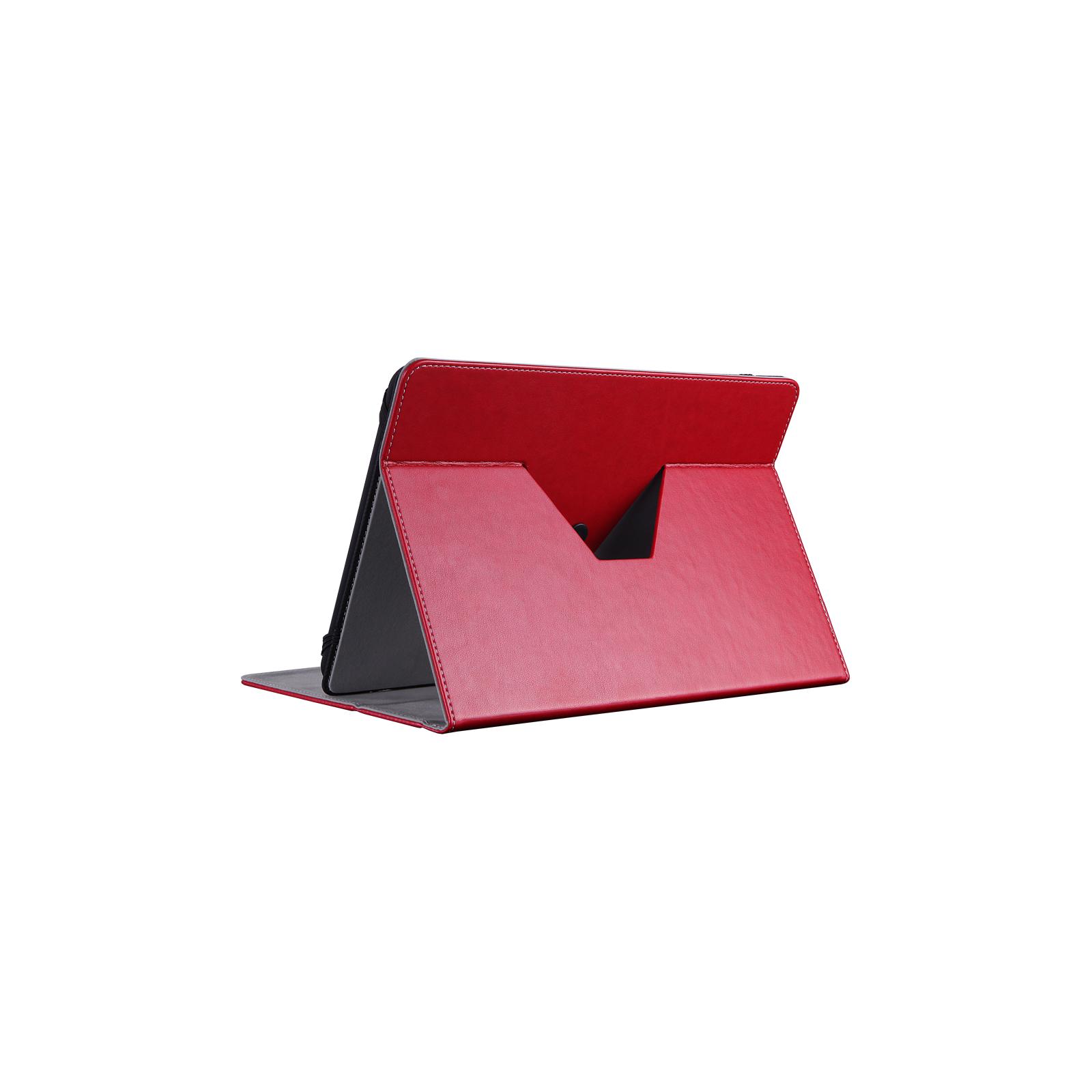 "Чехол для планшета PRESTIGIO 10.1"" Universal rotating RED (PTCL0210RD) изображение 6"