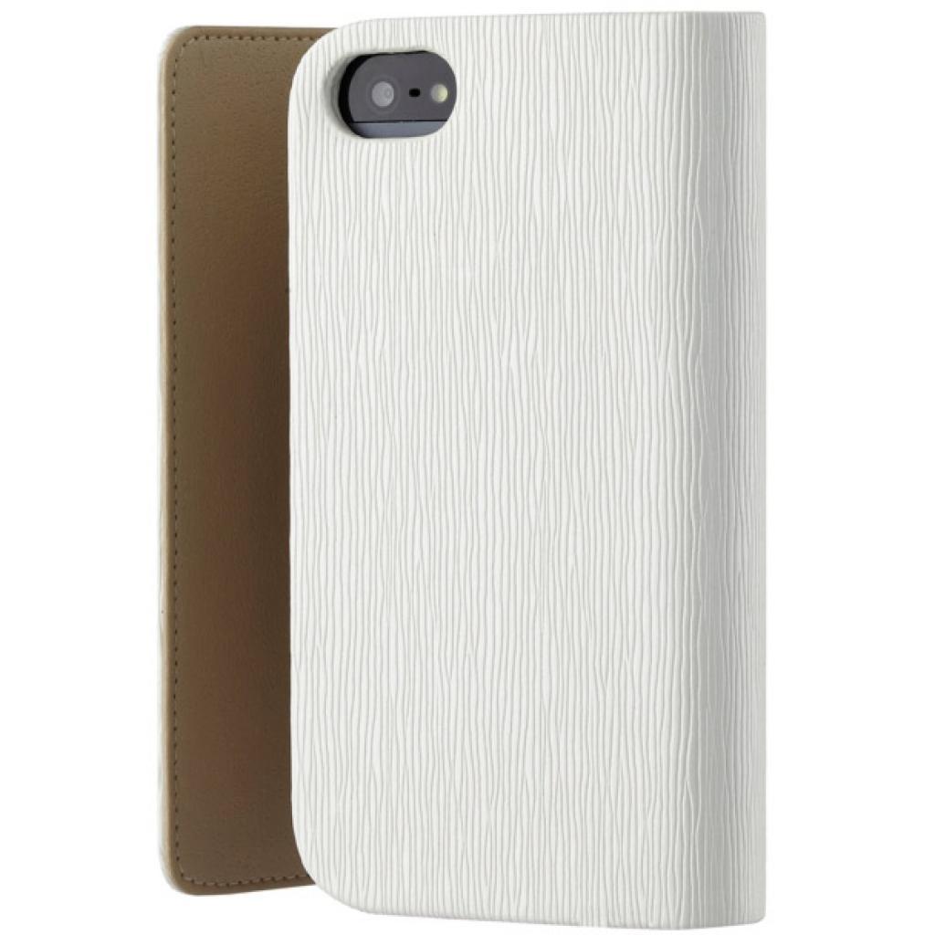 Чехол для моб. телефона OZAKI iPhone 5/5S O!coat Zippy Leather wallet White (OC570WH) изображение 2