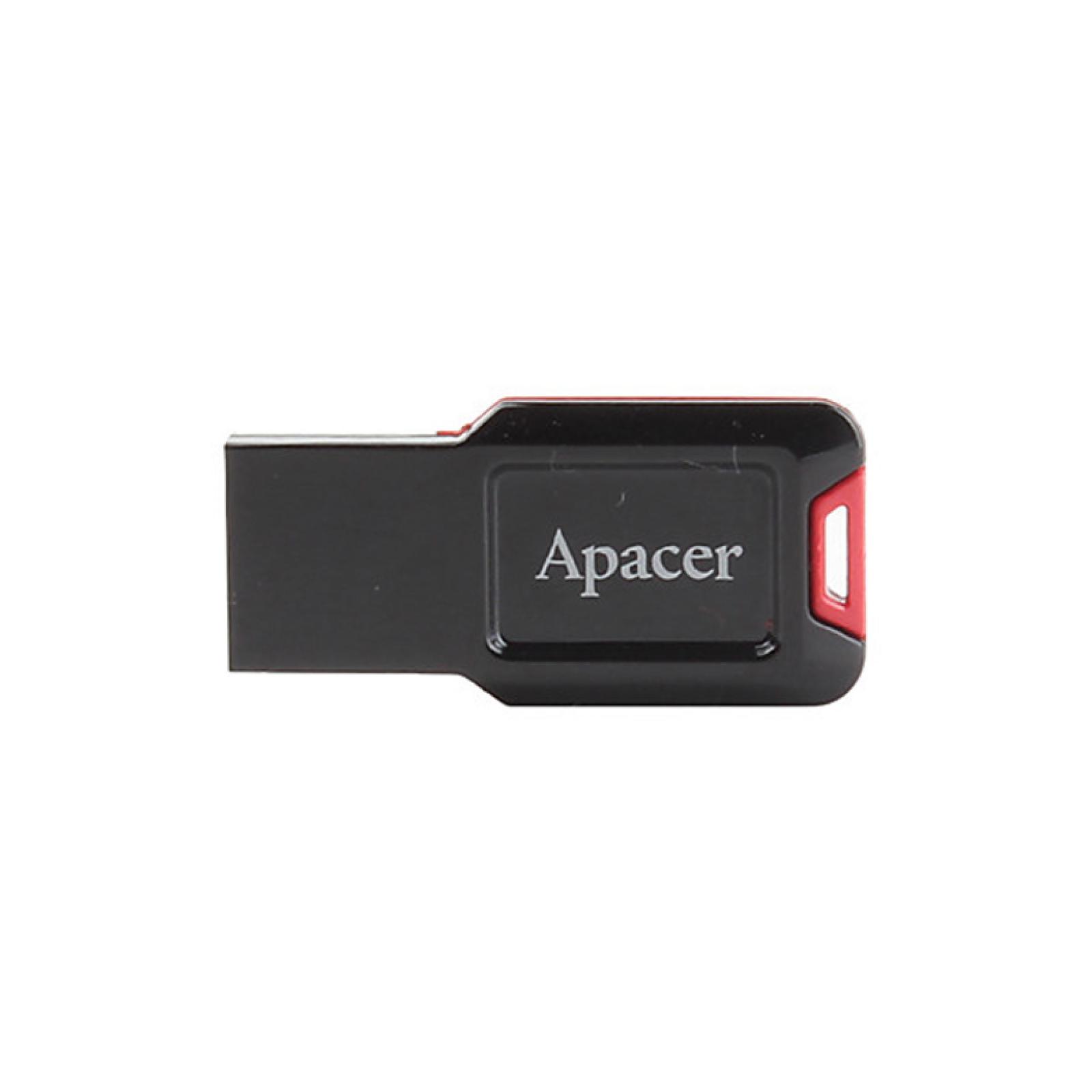 USB флеш накопитель 16GB AH132 Red RP USB2.0 Apacer (AP16GAH132B-1)