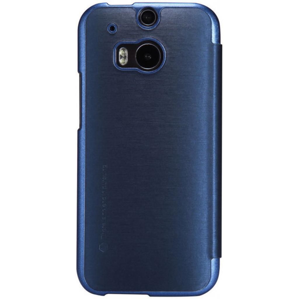 Чехол для моб. телефона для HTC ONE (M8) /Rain Leather Case/Blue NILLKIN (6138240) изображение 2